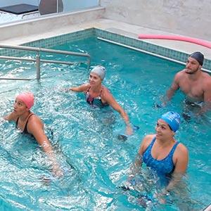 Hidroginástica | Hidroterapia